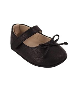Baby Deer Black Velcrow Sandal