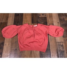 Mae Li Rose Coral Sweatshirt