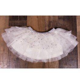 Calla Lily Star Print Skirt