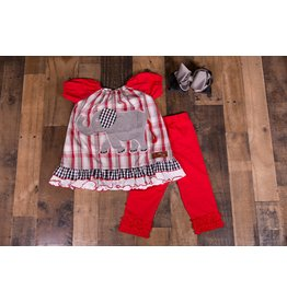 Millie Jay Elephant Applique Legging Set