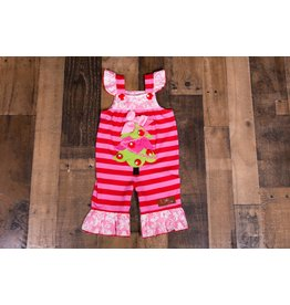 Millie Jay Christmas Tree Applique Jay Romper