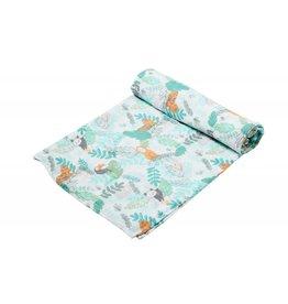 Angel Dear Jungle Muslin Blanket