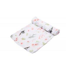 Angel Dear Dolphin Muslin Blanket