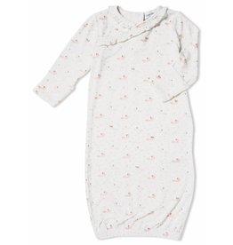 Angel Dear Baby Fox Pink Kimono Gown