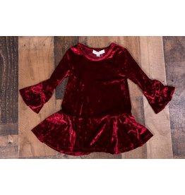 Baby Sara Velvet Dress