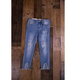 Jessica Simpson Baby Pearl Embellished Jeans