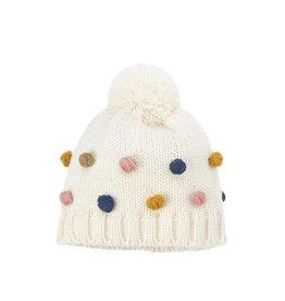 Mud Pie Pom Pom Knit Hat