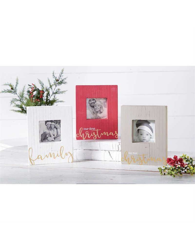 mud pie my first christmas frame peek a bootique