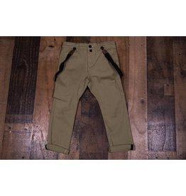 Mud Pie Khacki Suspender Pants