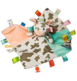 Taggies Patches Pig Character Blanket