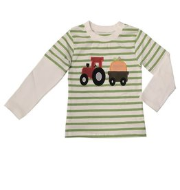 Be Mine Hday-pumpkin Tractor Shirt