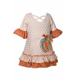 Bonnie Jean Medallion Pumpkin Dress