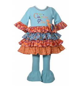Bonnie Baby Cute as Pie Multicolored Cutie Pie 2 Piece Set