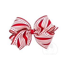 King Candy Cane Bow