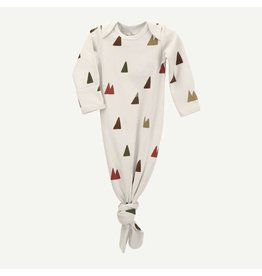 Oliver & Rain Mountain Print Baby Gown