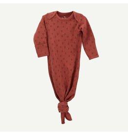 Oliver & Rain Rust Tree Print Gown