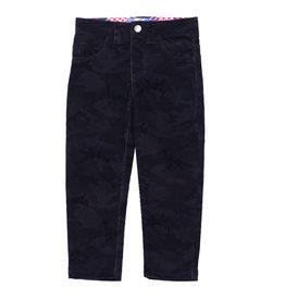 Kapital K Black Camo Corduroy Pant