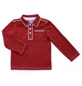Kapital K Smokey Red Polo T-Shirt