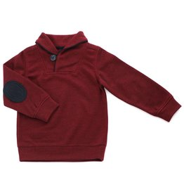 Kapital K Burgundy Pull Over with Elbow Patches