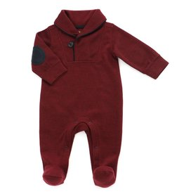 Kapital K Burgundy Onsie with Elbow Patches