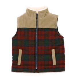 Kapital K Plaid Wool Vest