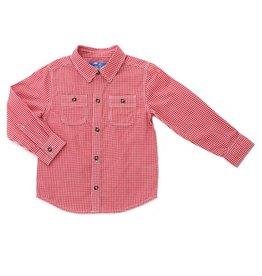 Kapital K Red Checker Button Down Shirt