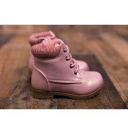 Rugged Bear Pearl Pink Boots