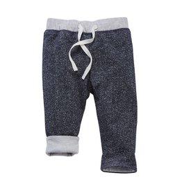 Mud Pie Blue Reversible Pants