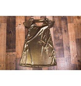 Little Mass Cleopatra Gold Dress