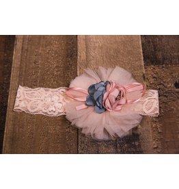 Mae Li Rose Bouquet Elastic Headband