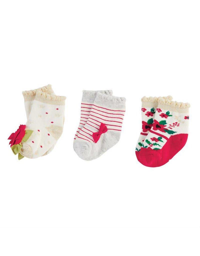 mud pie christmas floral sock set - Mud Pie Christmas