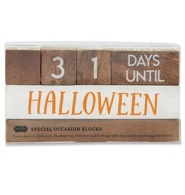 Mud Pie 4 Holiday Countdown Blocks