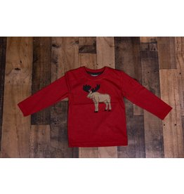CR Sports Moose Applique Shirt