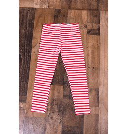 Haven Girl Red And White Striped Leggings