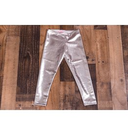 Haven Girl Metallic Silver Leggings