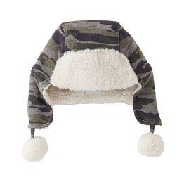 Mud Pie Camo Sherpa Hat