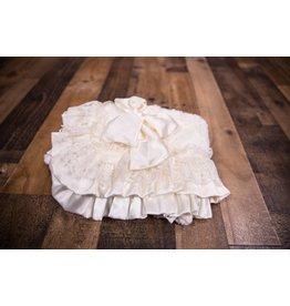 Cuddle Couture Ivory Vintage Standard Blanket