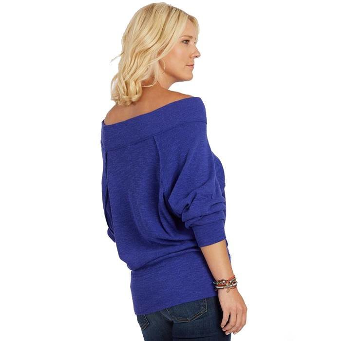 Free People Palisades Off-The-Shoulder Sweater  (Various Color Options)