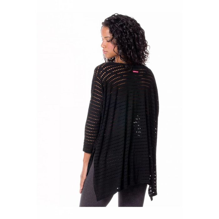 Hard Tail Holey Oversized Top