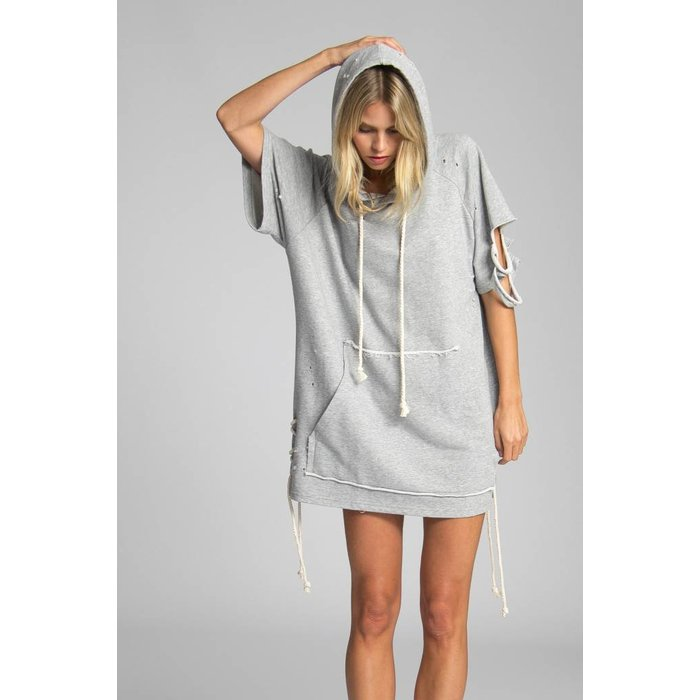 Joss Destroyed Sweatshirt Dress