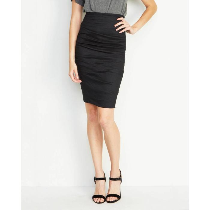 Sandy Tucked Skirt