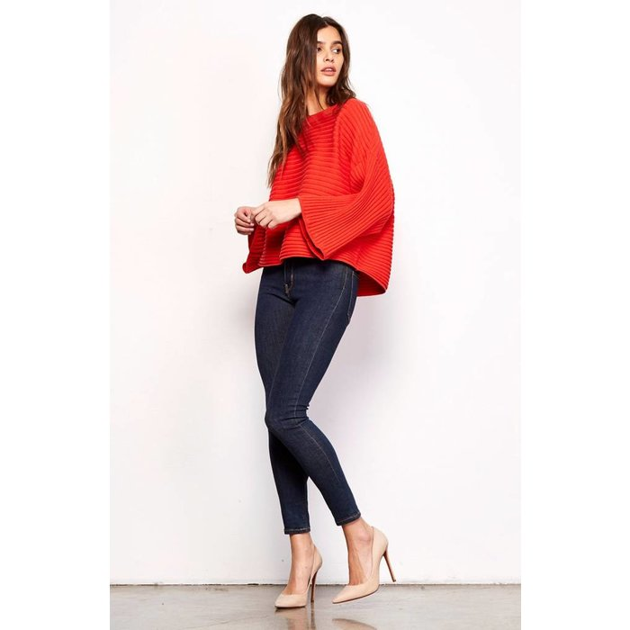 Claudel Wide Sleeve Sweater
