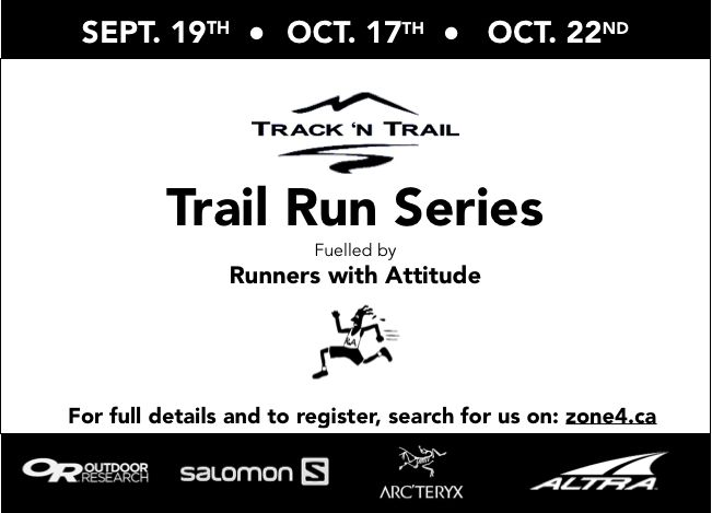 Fall Trail Run Series: Registration is Now Open!