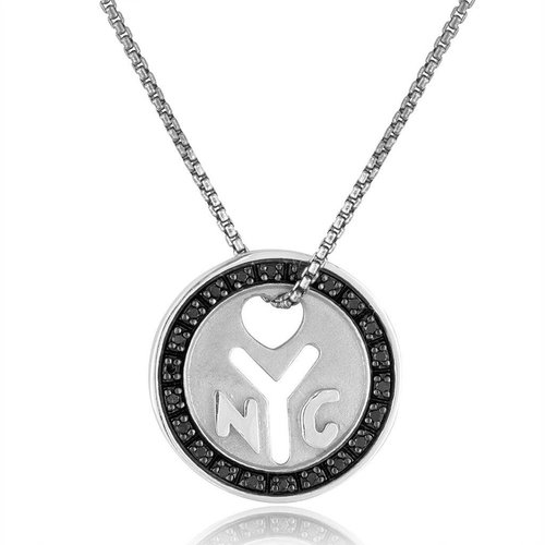 Julie Lamb NYC 'Make It There' Token Necklace