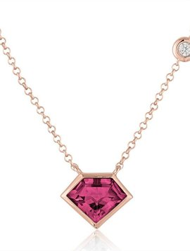 Julie Lamb Super Mini Pendant With Flying Diamond