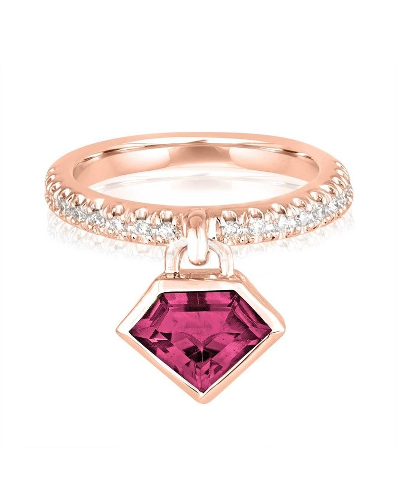 Julie Lamb Diamond Power Charm Ring