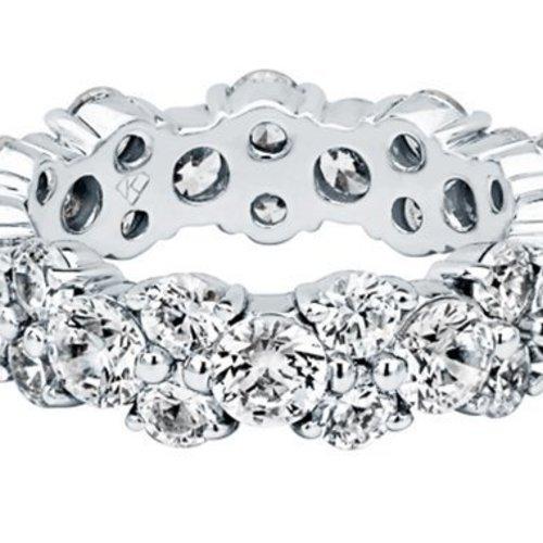 Kimberly Diamond Company Oval & Round Wedding Band