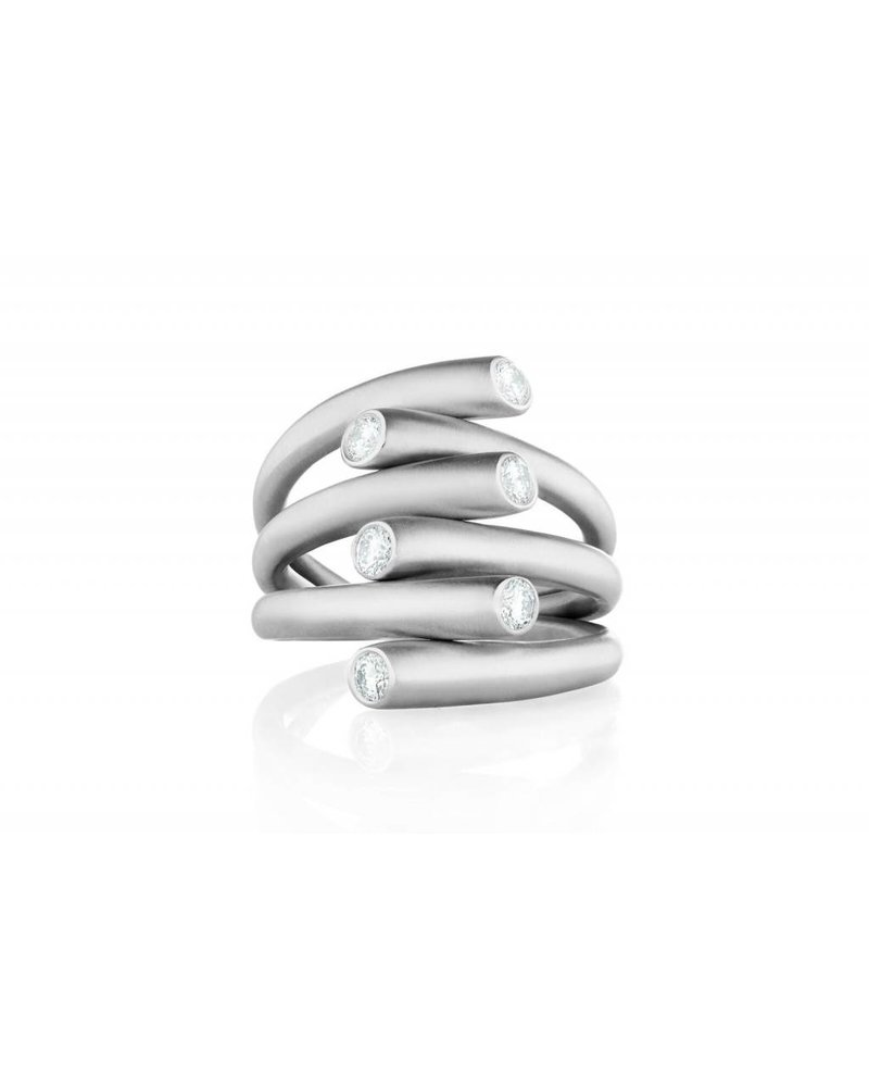 Carelle Whirl Diamond Ring