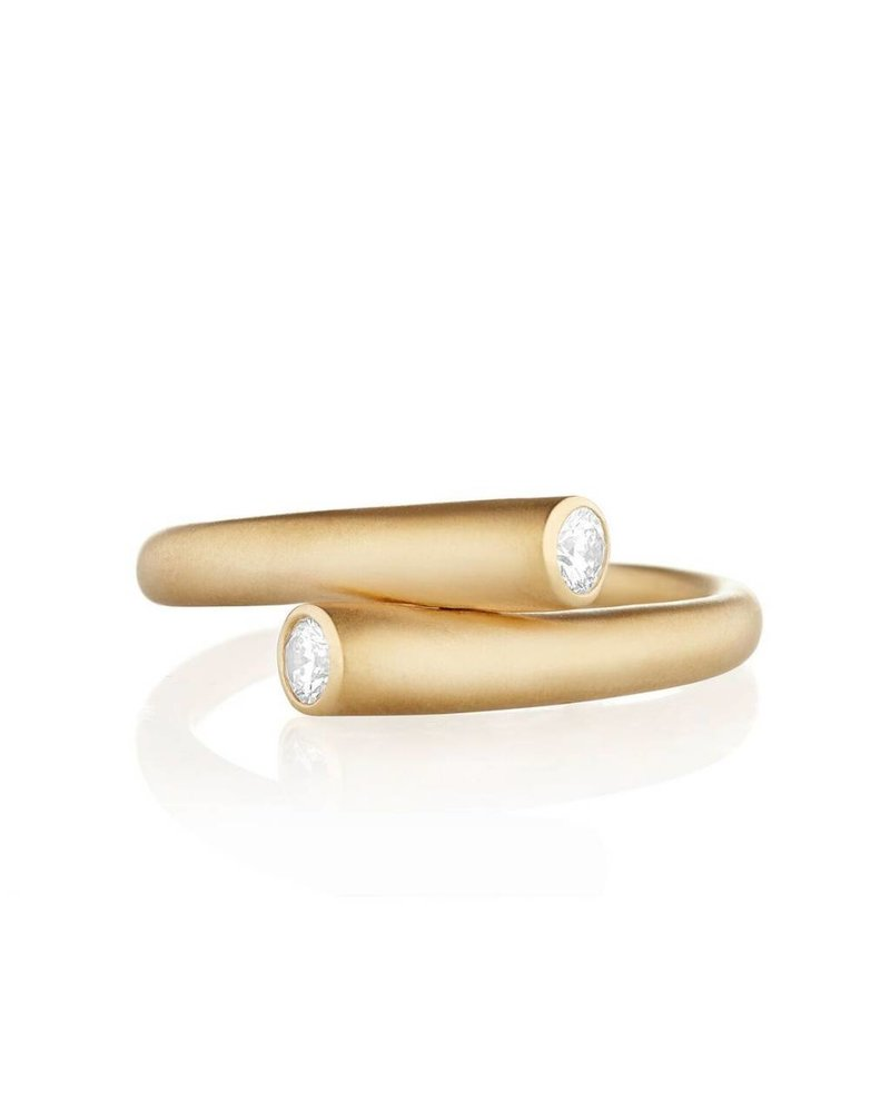 Carelle Whirl Single Diamond Ring