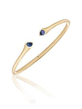 Carelle Whirl Sapphire Bangle